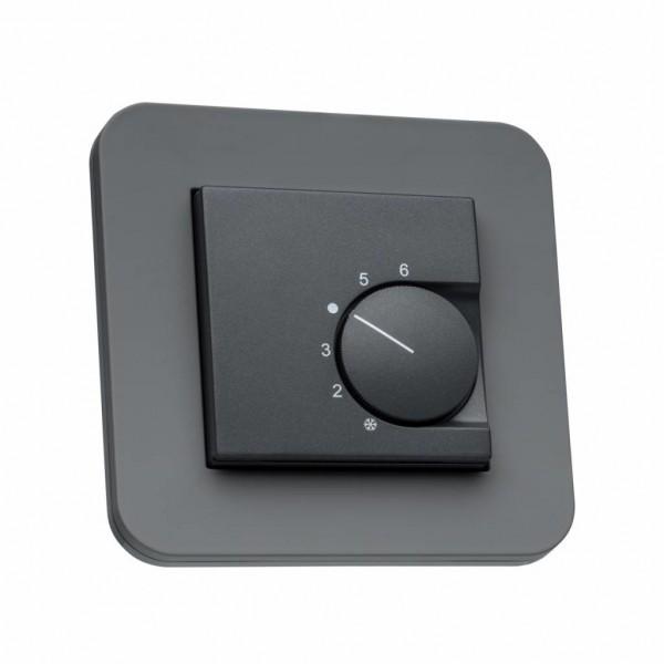 Raumthermostat für Gira E3 anthrazit