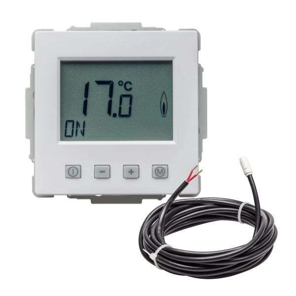 Fußbodentemperaturregler EFK-62 mit Uhr inkl. Bodenfühler