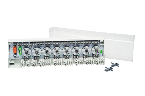 Regelklemmleiste Alpha Basis direct Switch 8 Zonen 230V B 21702-08