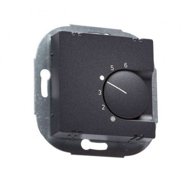 Raumthermostat FTR 101.000 anthrazit matt für Jung Serie A Rahmen