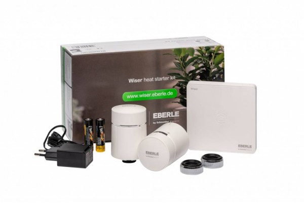 Wiser Heat Starter Kit - Heizkörperthermostate inkl. Hub (Gateway)