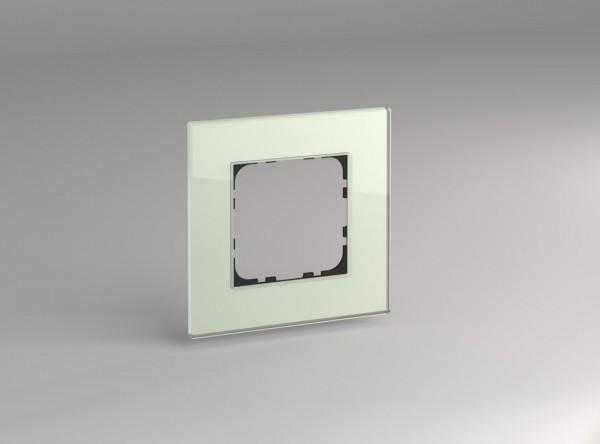 Glasrahmen für 55er Steckdosen und Schalter 1-fach mint
