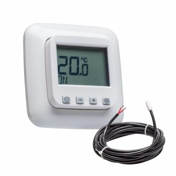 Fußbodentemperaturregler mit Busch Jäger Reflex SI inkl. Bodenfühler