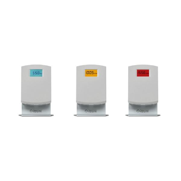 OPP-ROOM® CO2-Ampel mit Tischaufsteller