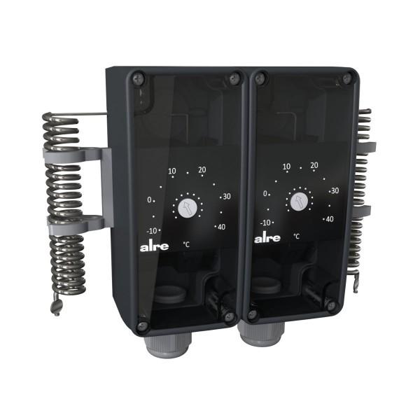 Anlagenraum-Doppelthermostat RTKSA-114.110