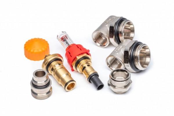 Erweiterungssatz für Dyna Heizkreisverteiler mit automatischer Durchflussregelung