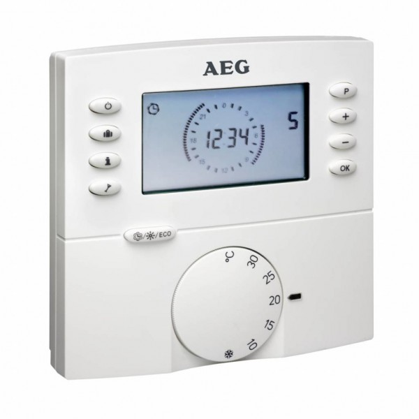 AEG Funk Raumtemperaturregler RTF-D mit Wochenprogramm
