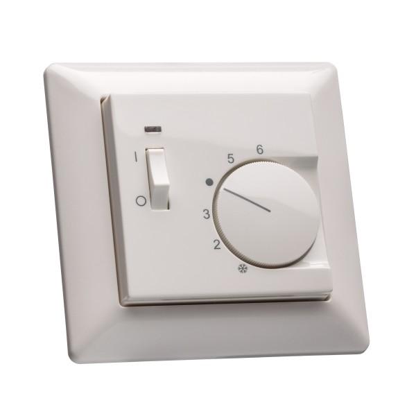Raumthermostat für Jung AS 500 mit Schalter Ein/Aus