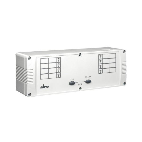 Regelklemmleiste Funk 230V 8-Kanal Heizen/Kühlen KTFRL-315.125