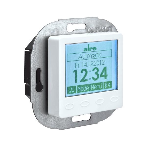 KTRRUu-217.456 digitaler Klimaregler Unterputz mit Uhr 230V