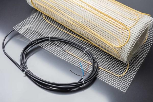 Elektrische Fußbodenheizung TVMT 125W/m²