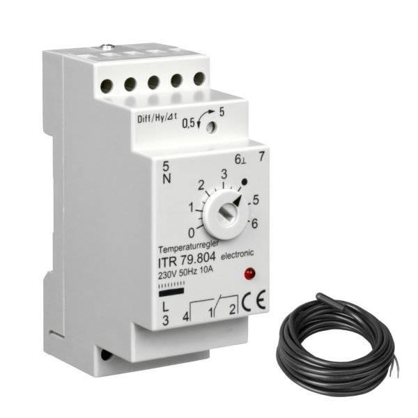 Temperaturregler elektronisch ITR 79.804 0...60°C inkl. Fühler
