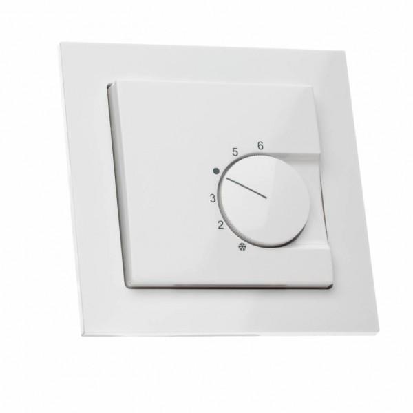 Raumthermostat für Busch Jäger Busch-axcent® Rahmen